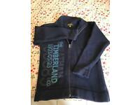 Timberland zip up cardigan