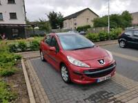 Peugeot 207 1.6 hdi diesel mot january 2018 in good condition 109000 miles