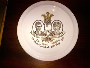 Princess Diana Wedding Plate