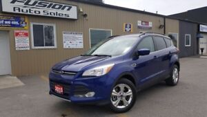 2015 Ford Escape SE-LEATHER-BACK UP CAMERA-ECOBOOST-SYNC