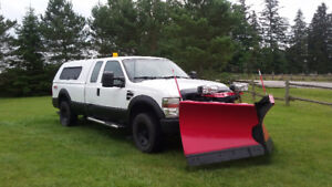 2008 F250 Super Duty with Western Plow
