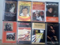 BEATLES, STONES, SHADOWS, HUMPERDINCK, DISTEL, DOONICAN, R CONWAY, MOTOWN PRERECORDED CASSETTE TAPES