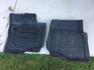 2015-17 F150 Ford Brand Moulded Floor Matts