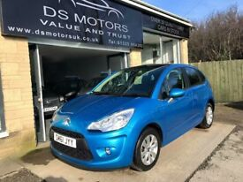 2011/61 CITROEN C3 VTR+ 1.4 PETROL BLUE 5 DOOR PAN ROOF