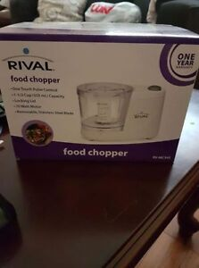 BRAND NEW - Rival 1.5 Cup Food Processor