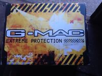 as new g.mac size large crash helmet