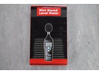 Mini Sound Level Meter Brand New Unused £44