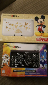 Selling 2 rare 3ds xl consoles