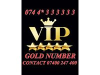 GOLD VIP MOBILE NUMBER 0744*333333
