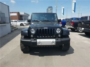 2015 Jeep Wrangler Unlimited Sahara  Comes With 33 Inch Mickey T