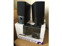 Bose Companion 2 Series III Multimedia Speakers - Black - Excellent Condition (Bargain at £70)