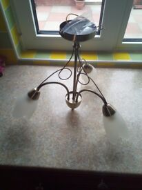 Brass Ceiling Light