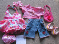 Bundle 9 - set of BABW or equivalent bear clothes £10