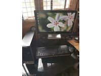 Desktop PC HP Pavilion Slimline with Monitor, Keyboard and Mouse