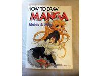Manga How to Draw Maids and Miko Book (Brand New)