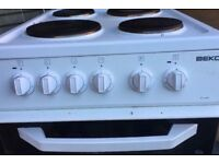 Beko Electric Cooker Only 12 Months Old fully working can deliver free local only or collect