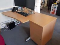 3 x office desks