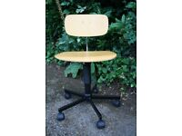 Wooden office chair from Heals