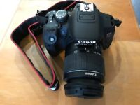 Canon EOS 700D with Original Canon Bag