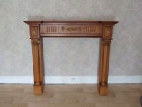 Wooden fire surround - Great condition