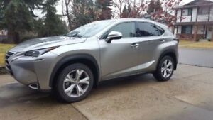 2015 Low mileage no accident Lexus NX 200t Executive package