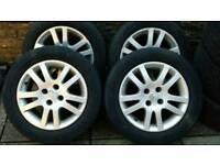 """Honda 15"""" alloy wheels"""