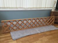QUALITY NEW WOODEN GARDEN DECORATIVE TRELLIS PANELS 6FT X 1FT