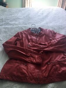 Leather Jackets x 5 - Beautiful colours  - Mint (worn once)
