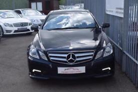 2009 Mercedes-Benz E Class E350 Coupe 3.0CDi BluEff 231 Sport 7GT Diesel black A