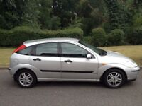 FORD FOCUS ZETEC 2003 YEARS MOT VERY RELIABLE CAR-ALLOY WHEELS- AIR CON -CD PLAYER-REMOTE LOCKING