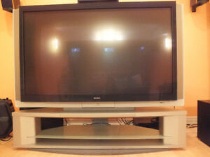 "Sony 70"" LCD TV with Stand"