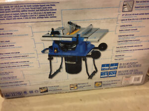 Brand new Mastercraft table saw for sale