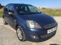 2006 EXCELLENT CONDITION THROUGHOUT FORD FIESTA ZETEC CLIMATE,MOT JULY 2018,FULL SERVICE HISTORY