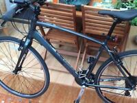 Sararcen urban road bike 6061 alloy frame 20 in 28 in slim road wheel vgc bargain