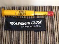 Caravan noseweight gauge