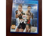 Ps4 UFC 2 in mint condition like new