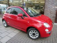 FIAT 500 1.2 Lounge 3dr (start/stop) (red) 2014