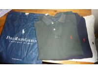 MENS POLO RALPH LAUREN SHIRTS 3 FOR £9.99 TOGETHER, LARGE SIZE