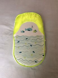 Baby bath support and baby bouncer