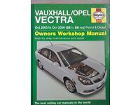 Haynes Manual: Vauxhall (Opel) Vectra 2005 - 2008 (55 to 58 reg) Petrol and Diesel