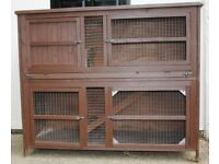 Large Double Story Hutch for Rabbits or Guinea Pigs