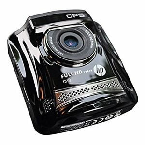 HP-F310-VP Car Dash Cam Video Camera with 2.4-Inch LCD (Black)