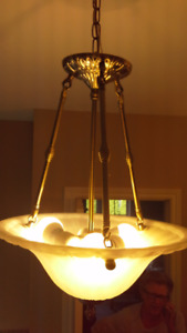 ceiling and vanity lamps
