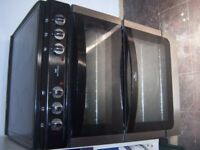 New World Electric F/standing cooker,D/oven & Grill Ceramic Hob £185 1 yr old