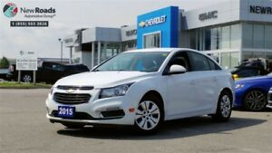 2015 Chevrolet Cruze LT 1LT, No Accidents, Pwr Grp, Auto