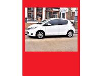 (White & Nice)- 2013 Toyota Yaris 1.3 VVT-i TR -- 29000 Miles -- Low Mileage --alternate4 corsa polo