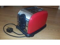 Toaster (NEXT) Red in excellent condition