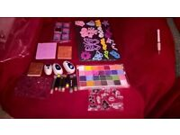 bundle of stamps inks and punches for card making/craft