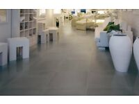 90 Large Dark Grey Premium Italian Floor/Wall Tiles 600mmx300mm