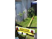 Yellow trailer for sale